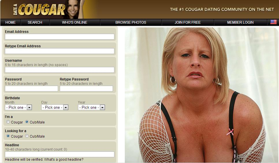 cougar websites dating