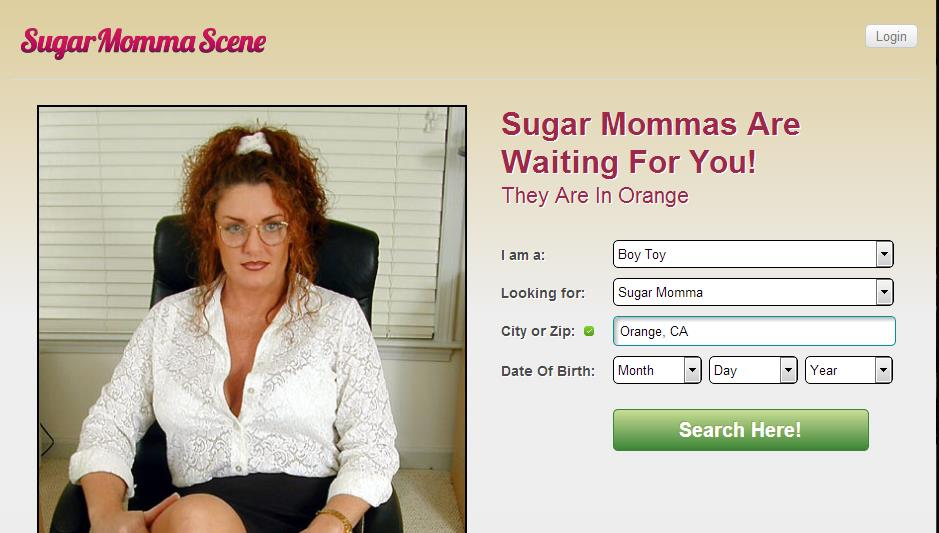 Sugar momma online dating